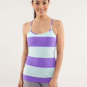 Lululemon Womans Blue and Purple Tank Top